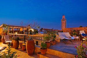 riad à Marrakech avec piscine