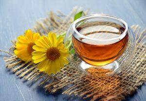 Pot de miel de fleurs
